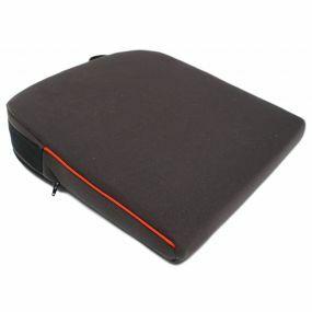 Harley 8º Velour Cover Wedge Cushion - Black (14x14x3