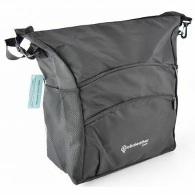 Deluxe Coloured Wheelchair Bag - Black