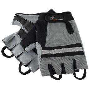 Revara Sports Wheelchair Gloves - XXL (Grey)