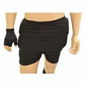 Impacta Active Unisex Hip Protection Briefs - Black (Large)