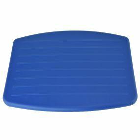 Standard Fold Up Shower Seat - Seat Pad (Blue)