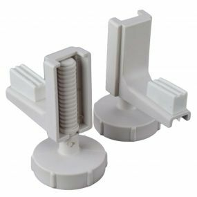 Linton Raised Toilet Seat - Spare Brackets Pair New Type