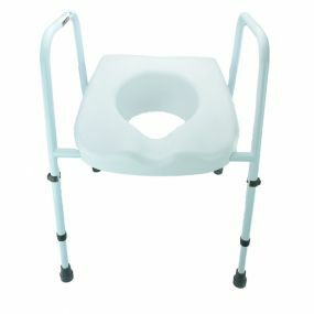Mowbray Lite Adjustable Toilet Frame with Seat