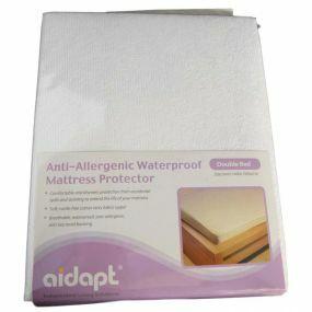 Anti-Allergenic Waterproof Mattress Protector - Double