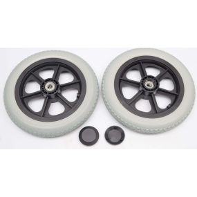 Puncture Proof Wheelchair Wheel & Tyre - 12 X 2.1/4 (Pair)