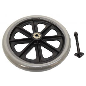 Replacement Back Fixed Wheel For Economy Lightweight Safety Walker (MS17152-MS17153)