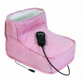 Massage Boot with Heat - Pink