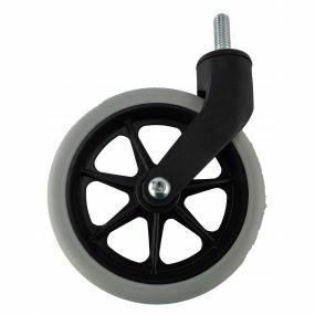 Wheelchair / Mobility Aid Castor Wheel Solid - 160x30mm (With Axel)