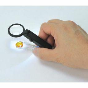 Illuminated Tweezers Magnifier