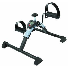 Aquamarine Pedal Exerciser with Digital Display