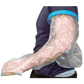 Economy WaterProof Cast And Bandage Protector - Long Arm