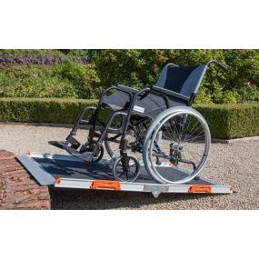 Premium Cross Fold Wheelchair Ramp - 5ft
