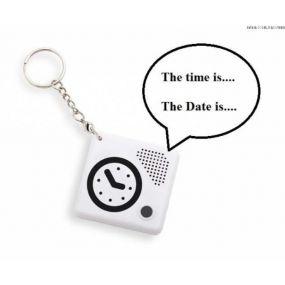 Talking Keychain Pocket Clock