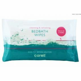 Carell bed Bath Wipes (8 Pack)