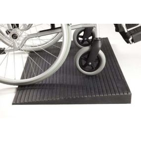 Rubber Threshold Ramp - 8mm (0.31