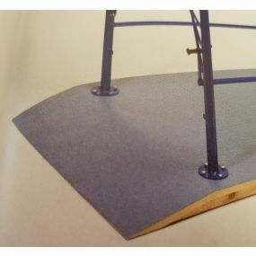 Westminster Parallel Bars - Non Slip Vinyl Base 250 x 120cm