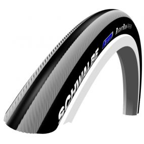 Schwalbe - RightRun Coloured Wheelchair Tyres - Grey/Black, Size: 24 x 1 (25-540)