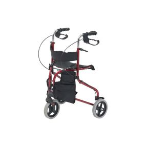 Tri-Walker With Seat - Red