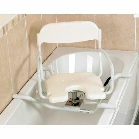 White Line Swivelling Bath Seat