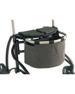 Dolomite Jazz 2 Rollator - Large Basket (Grey)