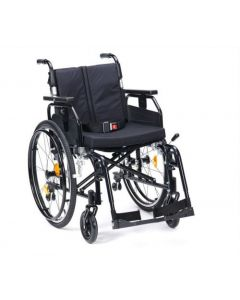 Super Deluxe 2 Alu Wheelchair - Black 18